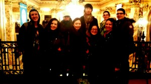 Teachers Christi, Melody and students at the Shen Yun performance...