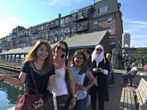 EC Boston English Center students on field trip to the North End!