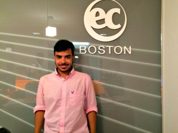 Abdulelah Fahad Alqurashi of S. Arabia: EC Boston's New Student Ambassador!