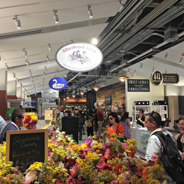 GRAND OPENING of the Boston Public Market