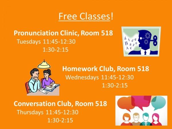 Free English Classes at EC Boston!