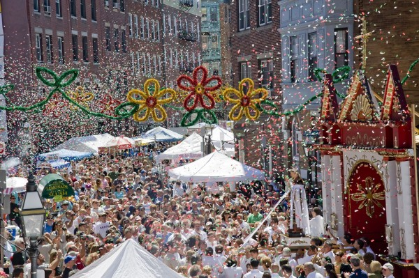 St Anthonys Feast in Boston, M.A.