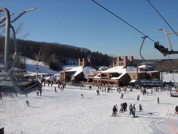 Take the Boston Ski Train to Wachusett Mountain!