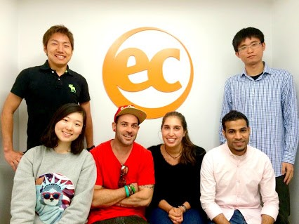 Student Ambassadors at EC Boston English School