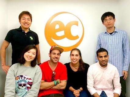 Student Ambassadors at EC Boston English School