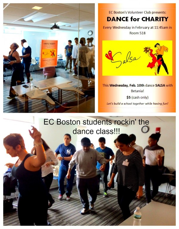 Dance for Charity at EC Boston English Center