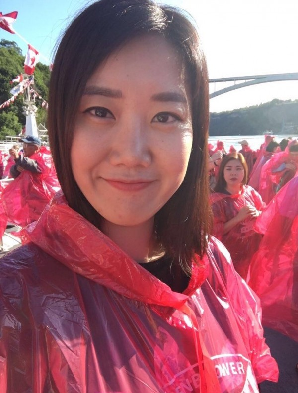 Claire from S. Korea is a Student Ambassador at EC Boston English School
