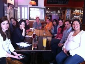 EC Brighton Staff in the Mucky Duck Pub