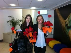 Emilia & Vera St Valentines day