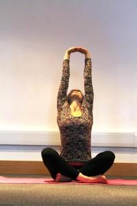 Tsetsy Yoga Pose 2