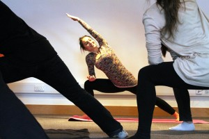 Tsetsy Yoga Pose 1