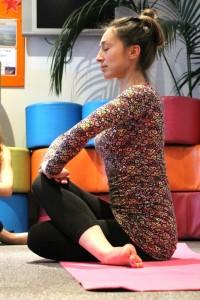 Tsetsy Yoga Pose 5