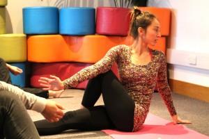 Tsetsy Yoga Pose 4