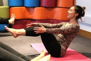 Tsetsy Yoga Pose 3