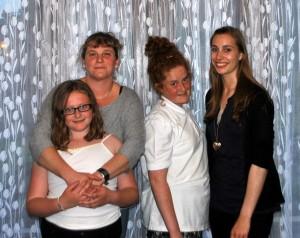 Andrea & host family
