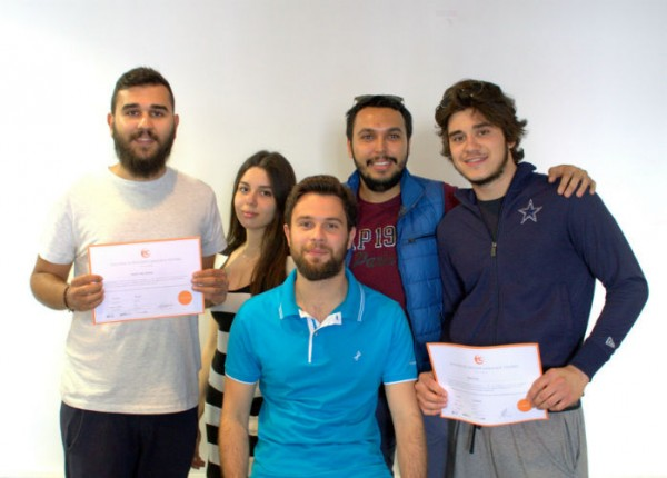 Ismail Akdede from Turkey is learning English in Brighton with EC