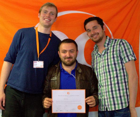Selim Sezgin is learning English at EC Brighton English School