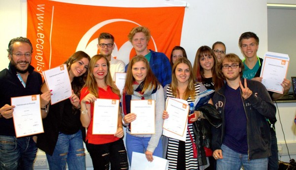 Students learn English in the UK with EC Brighton