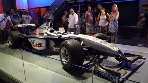 Mika Hakkinen's race winning F1 car!