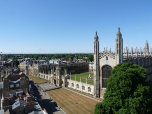 Kings College Chapel and lawns