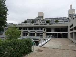The 'New Court' accommodation block at Christ's College