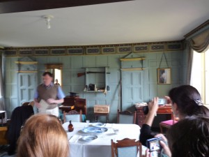 Inside Charles Darwin's room at Christ's College!