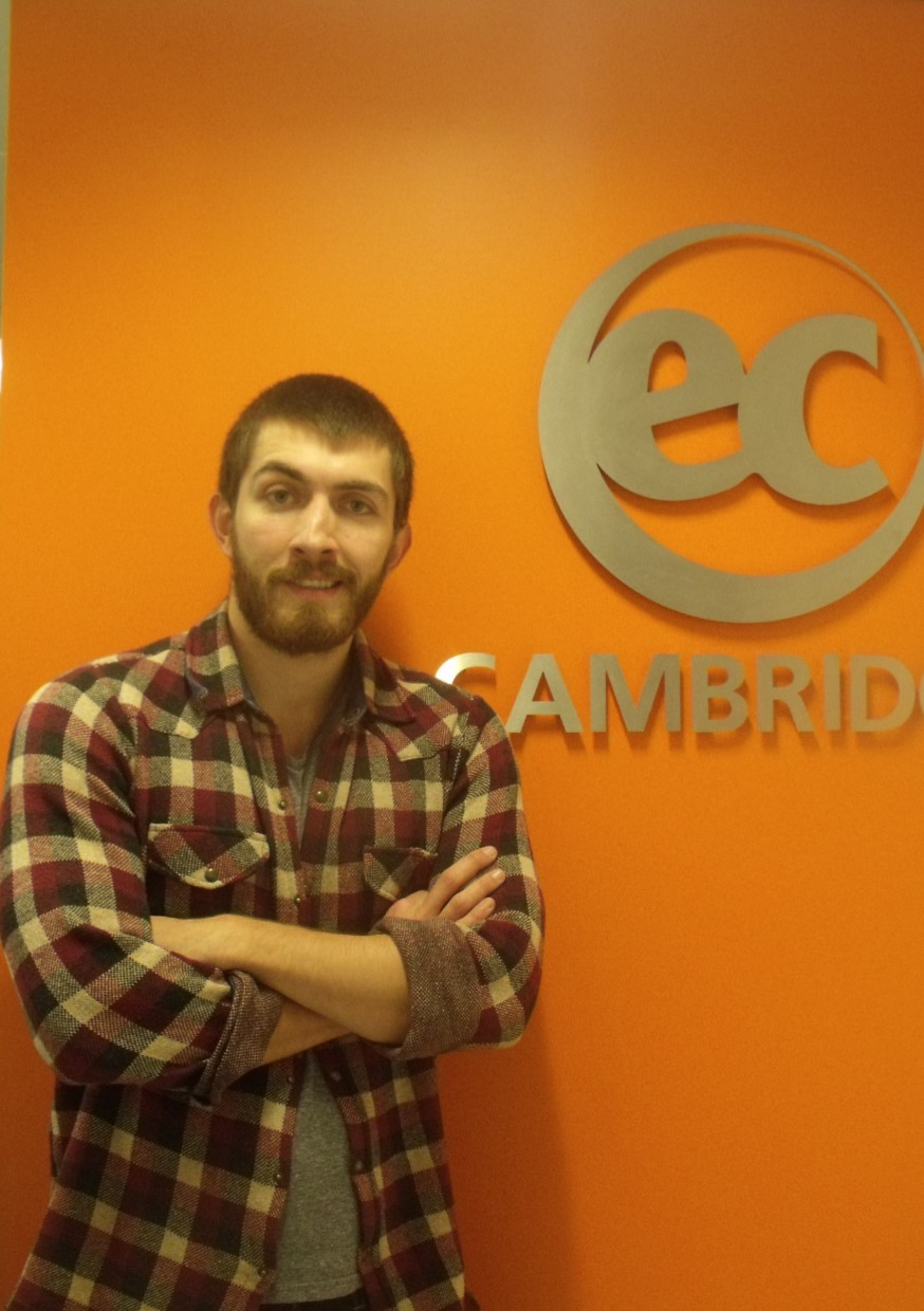 Birkan from Turkey talks about Cambridge IELTS at EC Cambridge