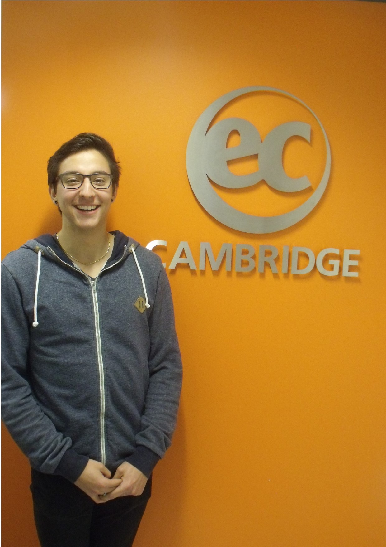 Dario from Stizerland CPE class cambridge