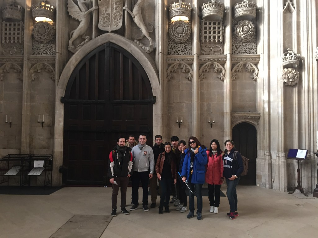 EC Cambridge Students take a visit to Kings College