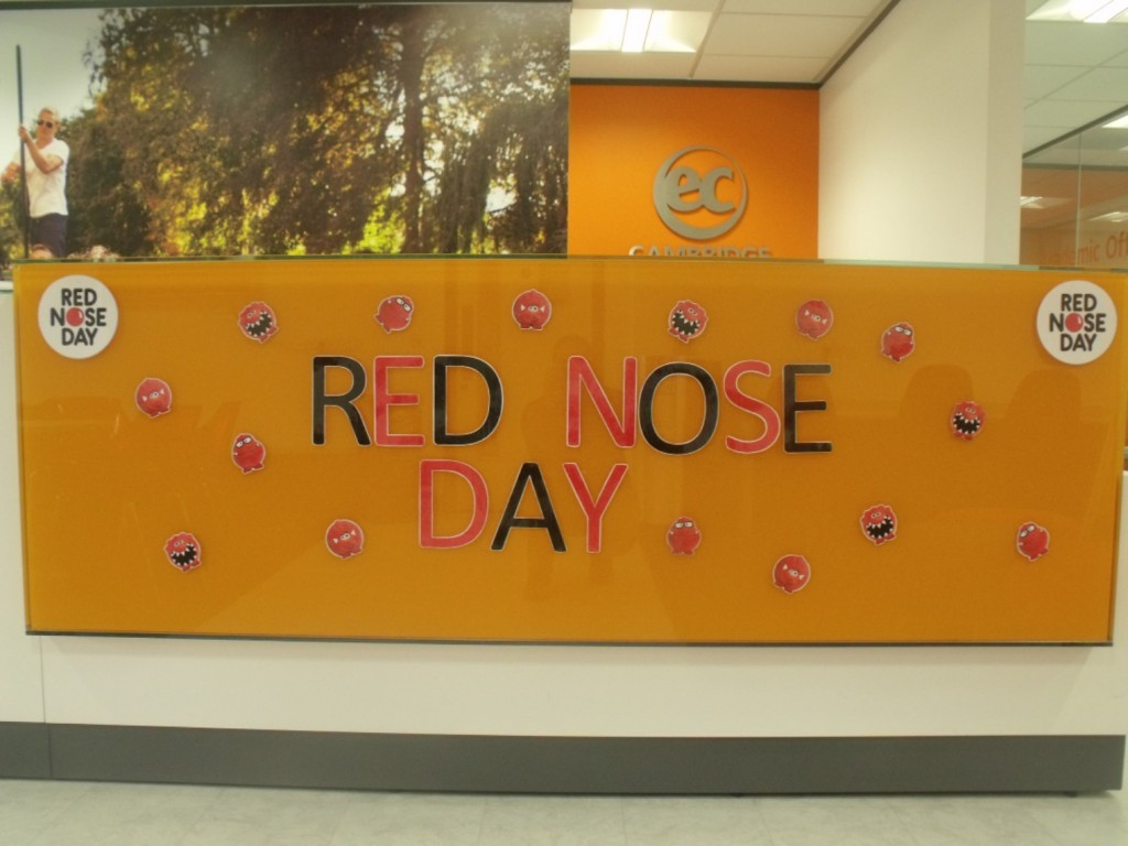 Red Nose Day at EC Cambridge