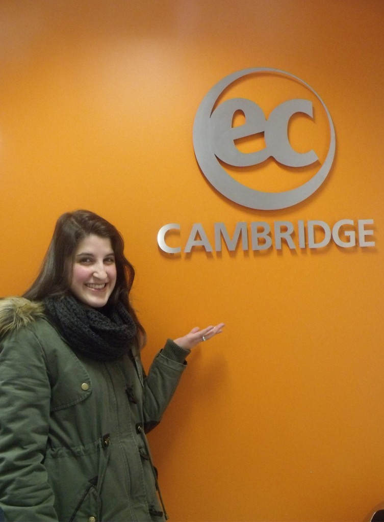 Teresa from Italy talks about her experience at EC Cambridge
