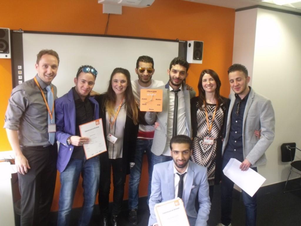 Certificate Ceremony at EC Cambridge