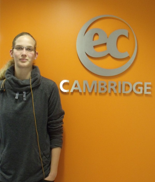 Celine Studies Business English at EC Cambridge