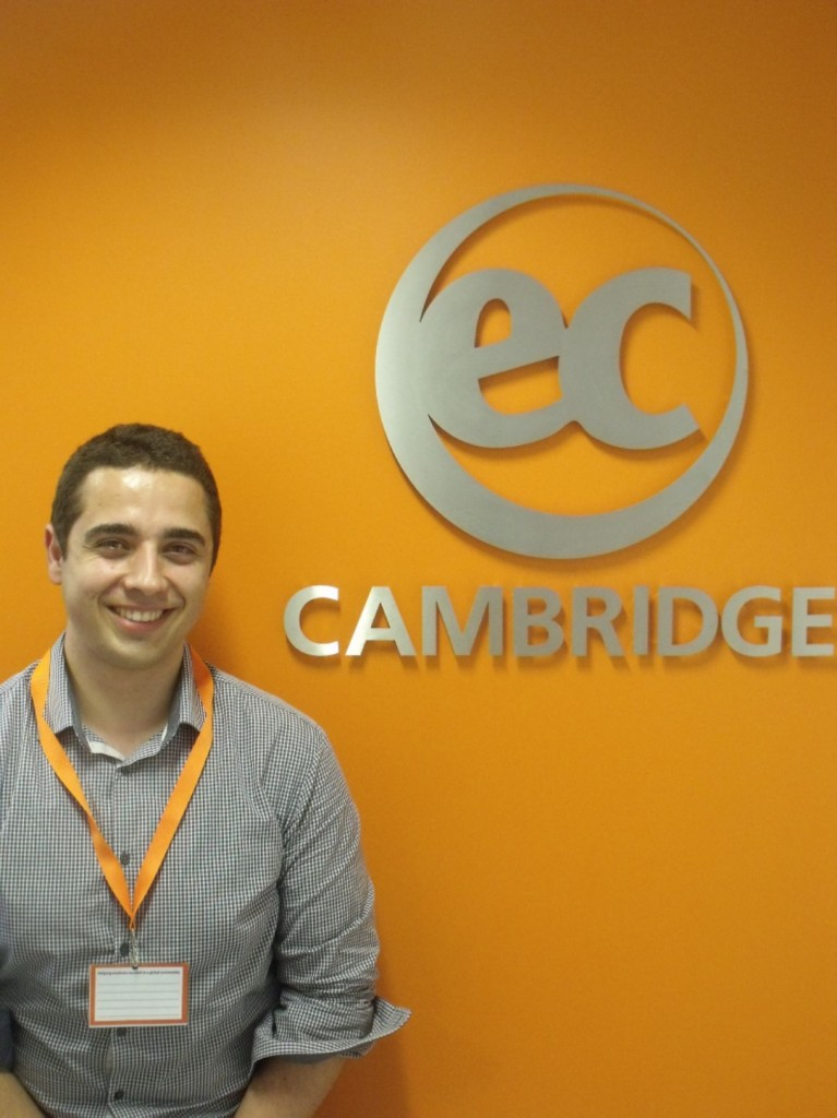 Antoine at EC Cambridge