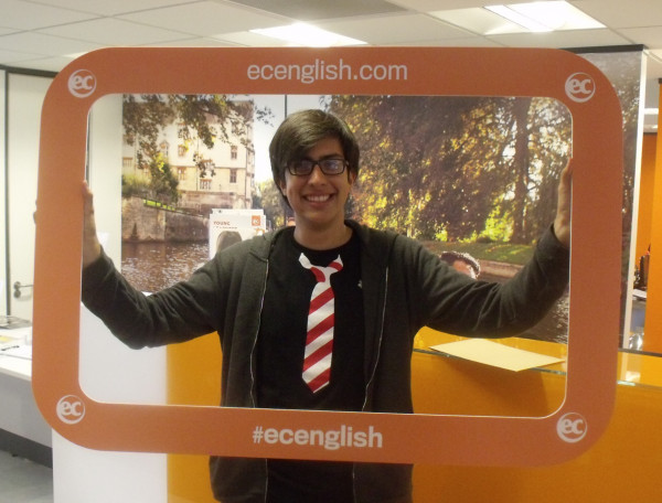 Alejandro from Colombia studied the CAE Exam Class at EC Cambridge English School