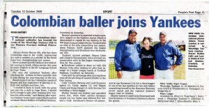 EC Cape Town student joins local softball team
