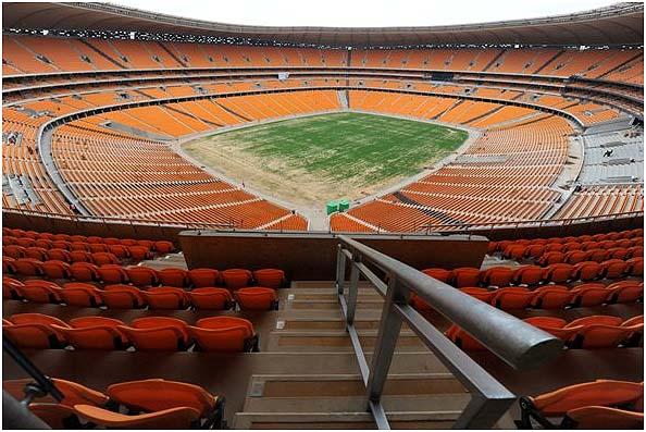 Soccer City near Soweto, Johannesburg