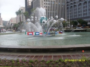 Football Fountain