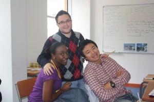 Lueji, Guillaume & Minwoo