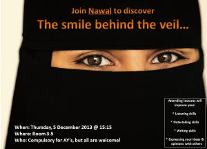The Smile Behind the Veil