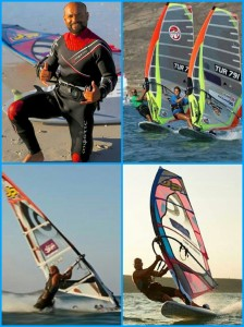 Abdurrahim Korkmaz, our windsurfer from Turkey