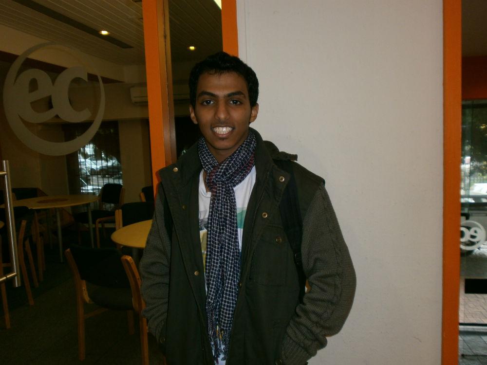 EC Cape Town Student Mohammad Bin Saleh Alsawat