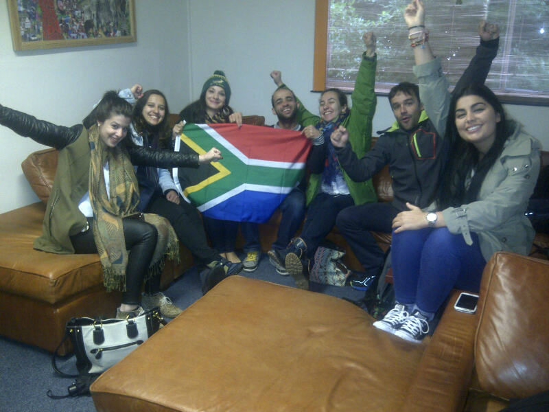 World Cup at EC Cape Town