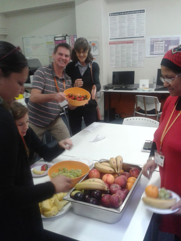 EC Cape Town staff celebrates Health Day