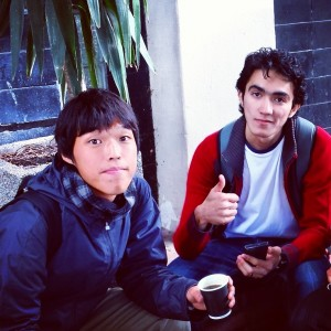 Mohamed Bay with Kengo Suzuki