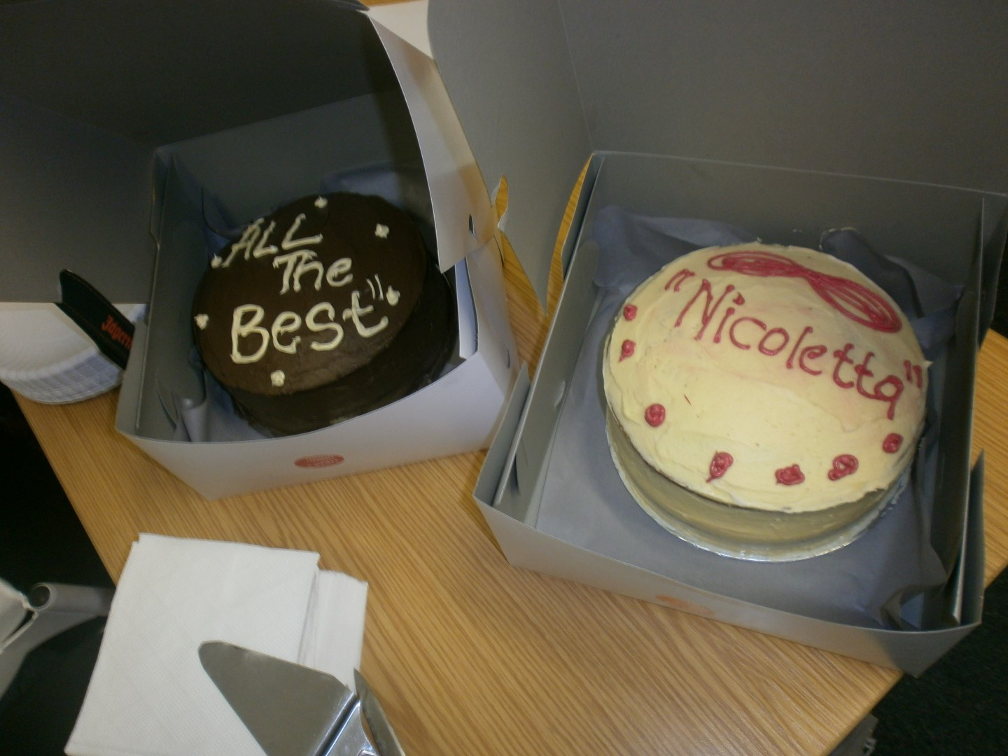Cake for Nicoletta
