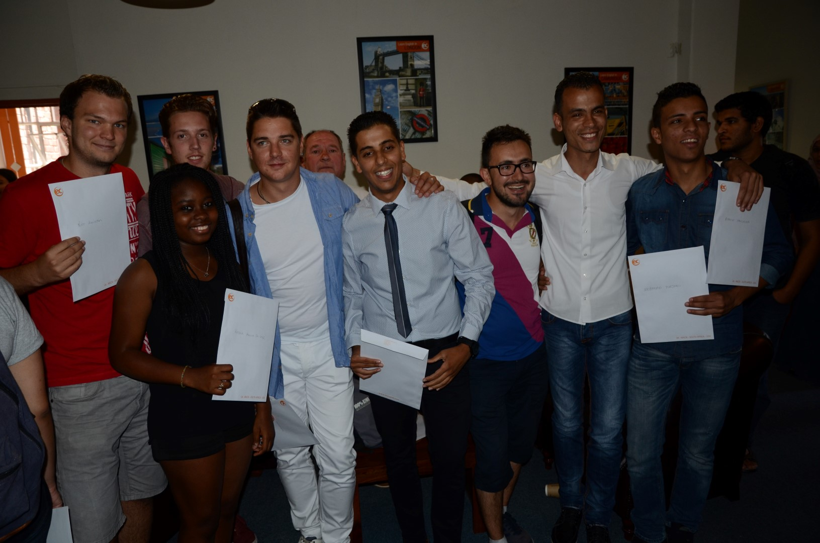 Graduation EC students