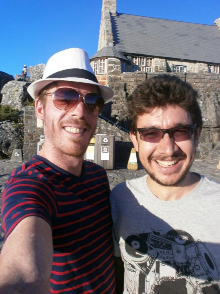 Teacher Matthew and EC student