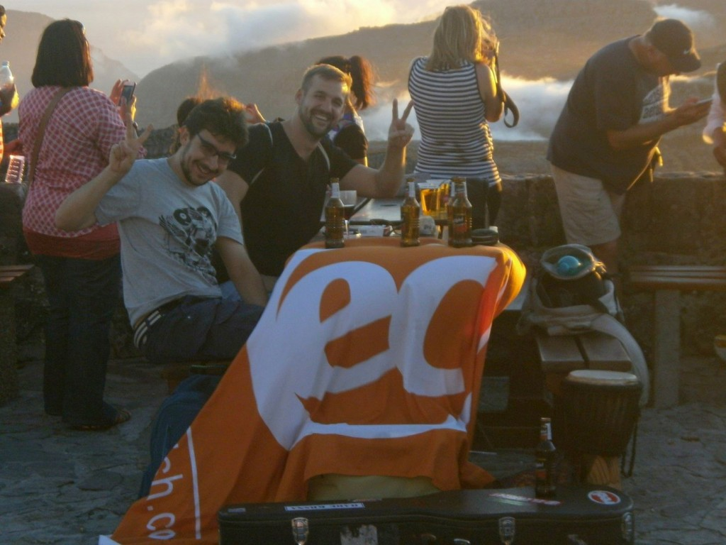 EC students at Table Mountain