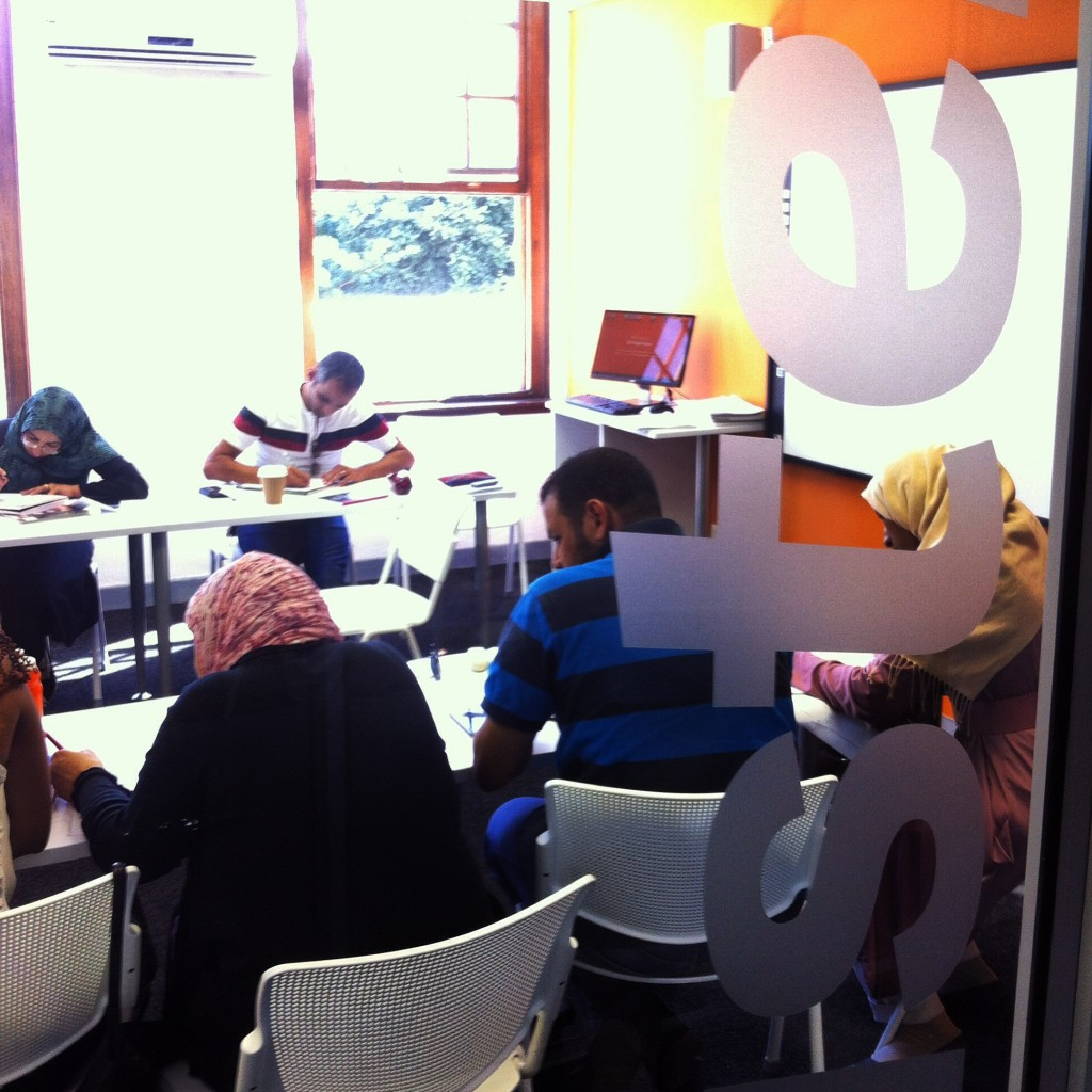 Open and bright classrooms at EC Cape Town school of English